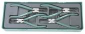 AG010002SP Комплект щипцов для стопорных колец 7', 4 предмета