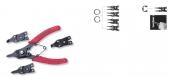 P266 Универсальный комплект щипцов для стопорных колец