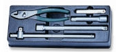 P60105ST Набор удлинителей, вороток и плоскогубцы