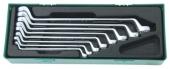 W23108SP Набор ключей накидных 75-гр, 6-22 мм, ложемент в пласти